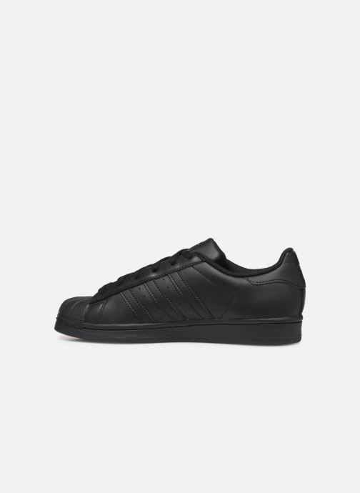 Baskets adidas originals Superstar Foundation W Noir vue face
