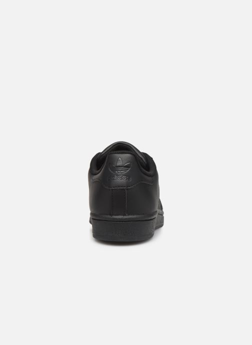 Baskets adidas originals Superstar Foundation W Noir vue droite
