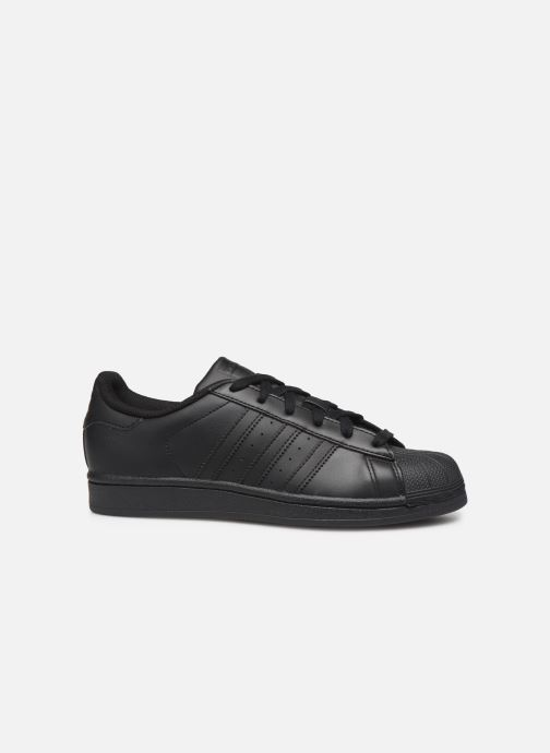Baskets adidas originals Superstar Foundation W Noir vue derrière