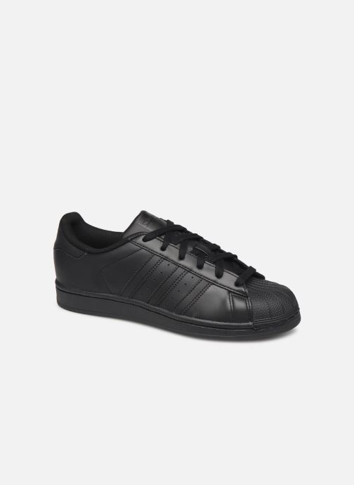 Baskets adidas originals Superstar Foundation W Noir vue détail/paire