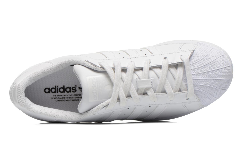 Baskets Adidas Originals Superstar Foundation W Blanc vue gauche