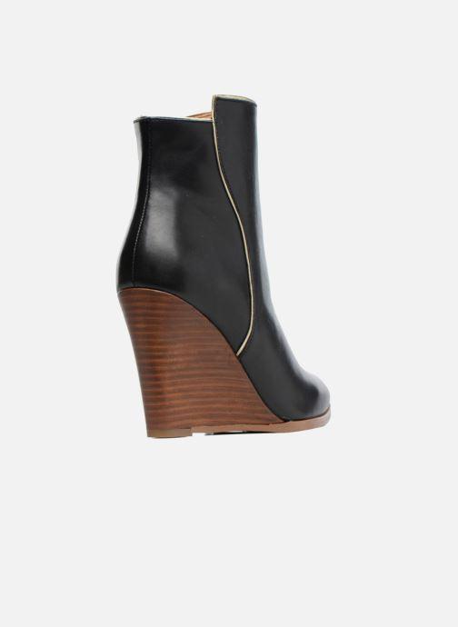 Boots en enkellaarsjes Made by SARENZA Toundra Girl Bottines à Talons #12 Zwart voorkant