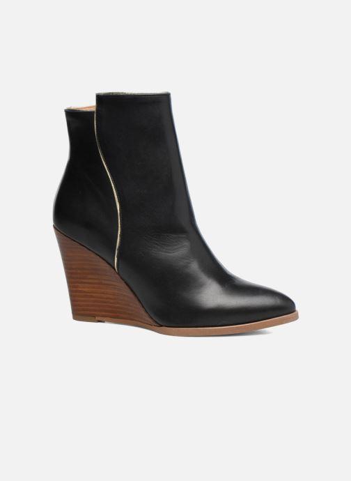 Boots en enkellaarsjes Made by SARENZA Toundra Girl Bottines à Talons #12 Zwart rechts