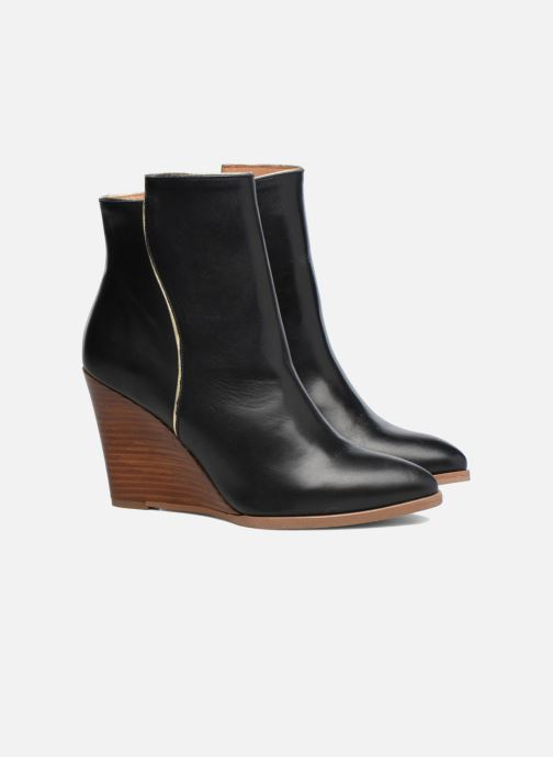 Boots en enkellaarsjes Made by SARENZA Toundra Girl Bottines à Talons #12 Zwart achterkant