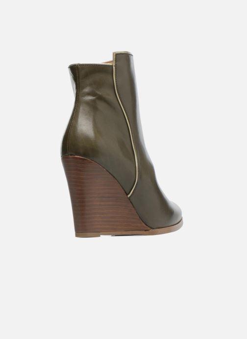 Boots en enkellaarsjes Made by SARENZA Toundra Girl Bottines à Talons #12 Groen voorkant