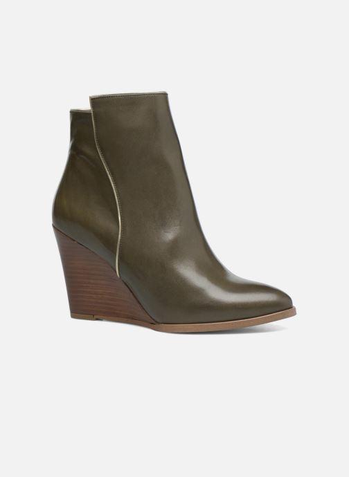 Boots en enkellaarsjes Made by SARENZA Toundra Girl Bottines à Talons #12 Groen rechts