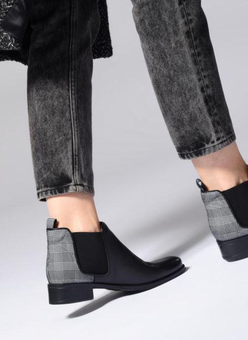 Bottines et boots Made by SARENZA Retro Dandy Boots #9 Argent vue bas / vue portée sac
