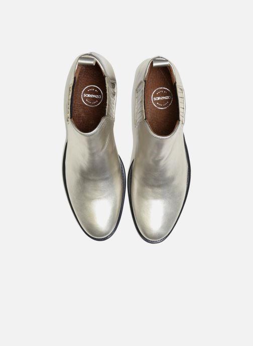 Bottines et boots Made by SARENZA Retro Dandy Boots #9 Argent vue portées chaussures
