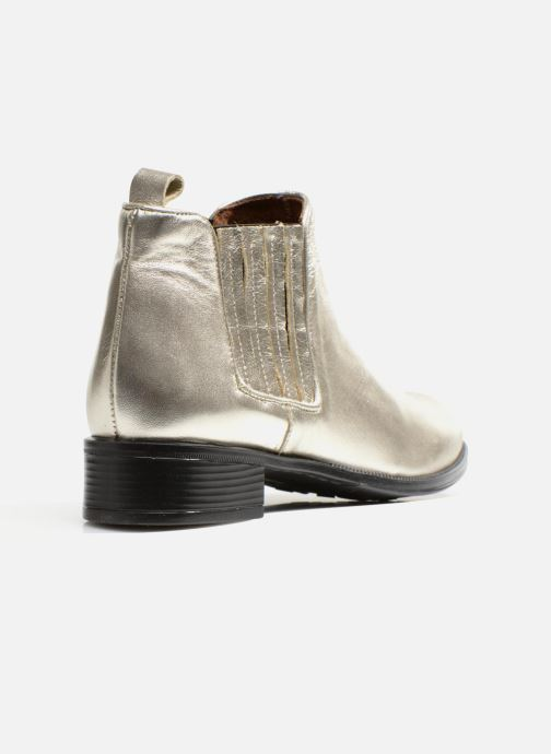 Bottines et boots Made by SARENZA Retro Dandy Boots #9 Argent vue face