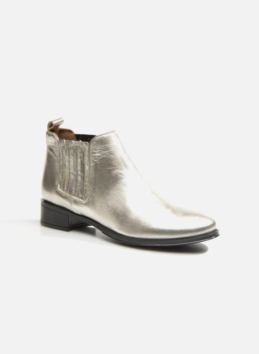 Bottines et boots Made by SARENZA Retro Dandy Boots #9 Argent vue droite