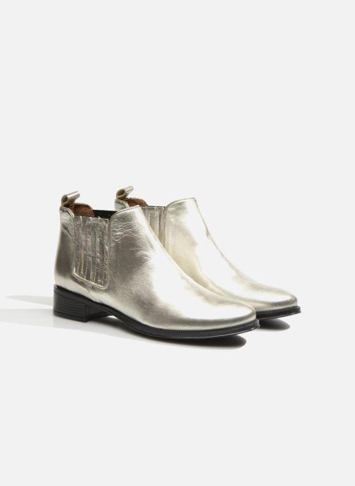 Bottines et boots Made by SARENZA Retro Dandy Boots #9 Argent vue derrière