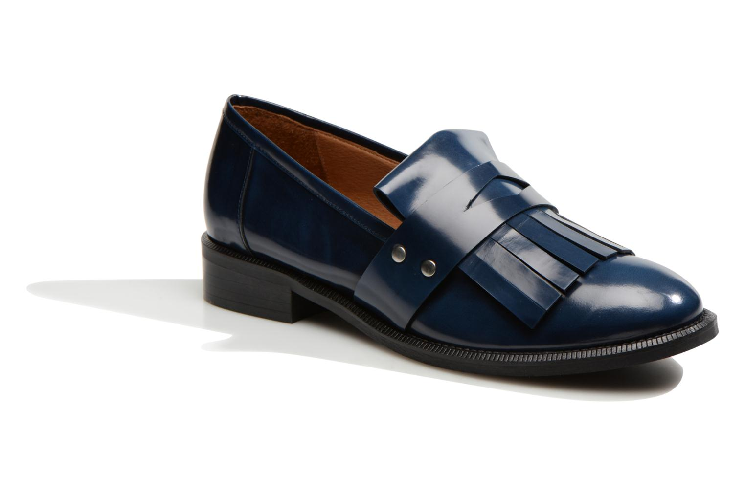 Loafers Made by SARENZA Vegas Lipstick #3 Blue view from the right