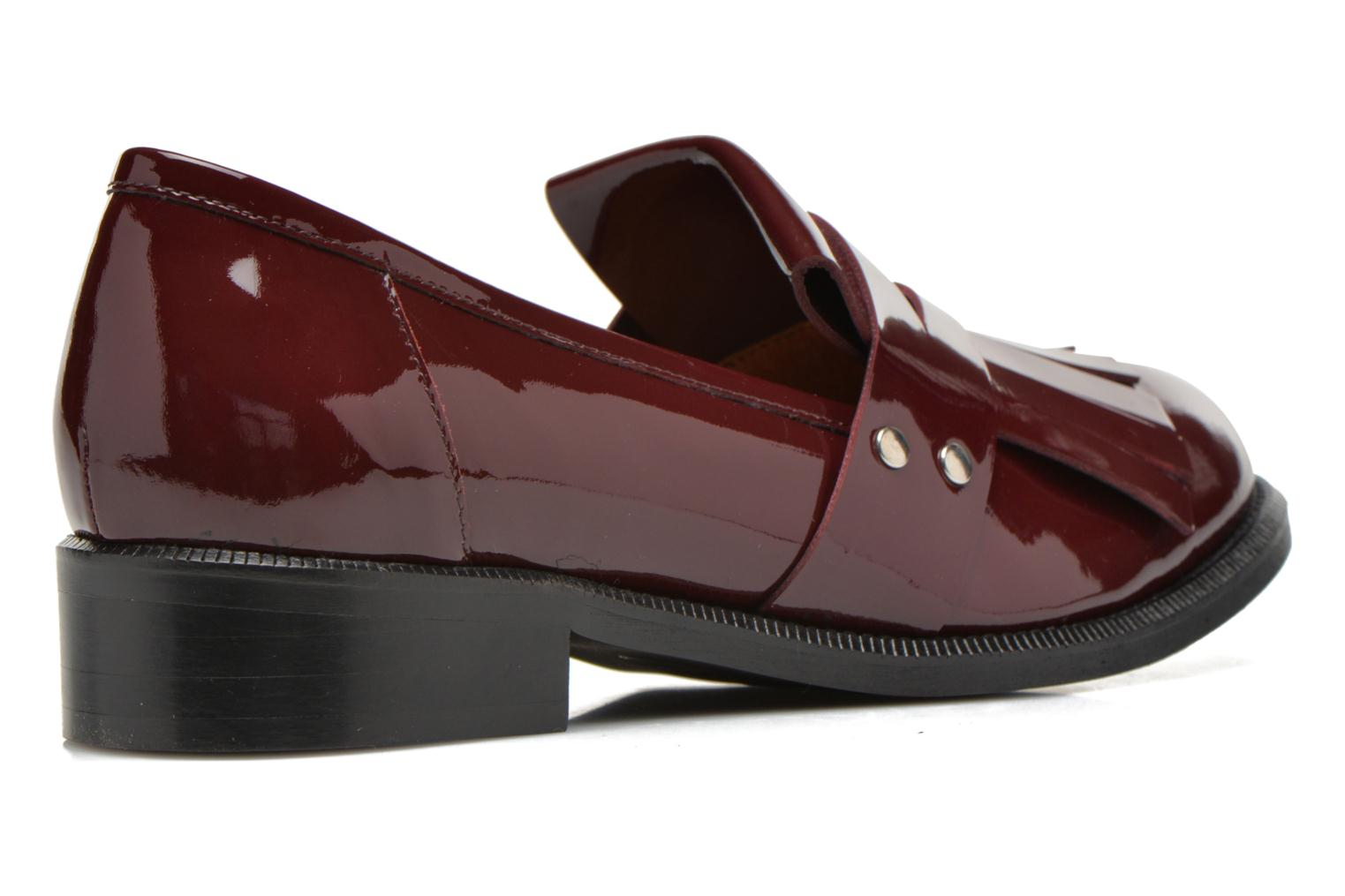 Loafers Made by SARENZA Vegas Lipstick #3 Burgundy front view