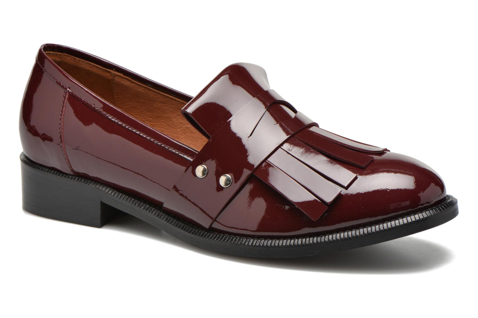 Loafers Made by SARENZA Vegas Lipstick #3 Burgundy view from the right