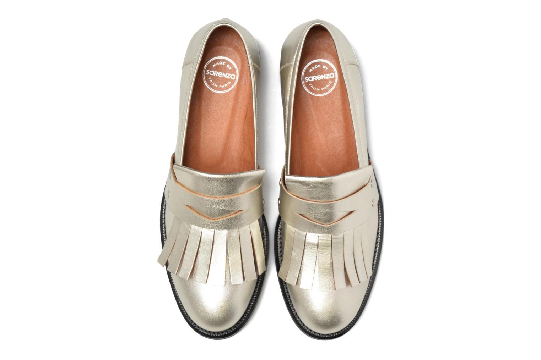 Mocassins Made by SARENZA Vegas Lipstick #3 Argent vue portées chaussures