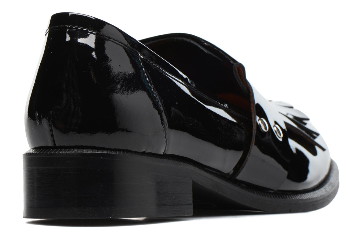 Loafers Made by SARENZA Vegas Lipstick #3 Black front view