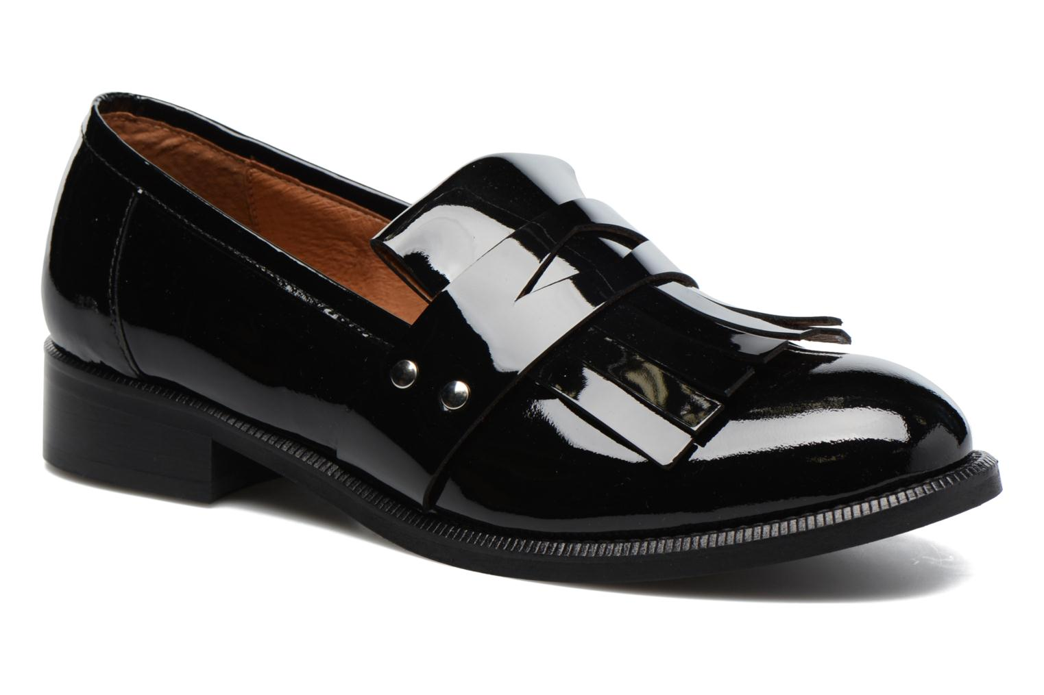 Loafers Made by SARENZA Vegas Lipstick #3 Black view from the right