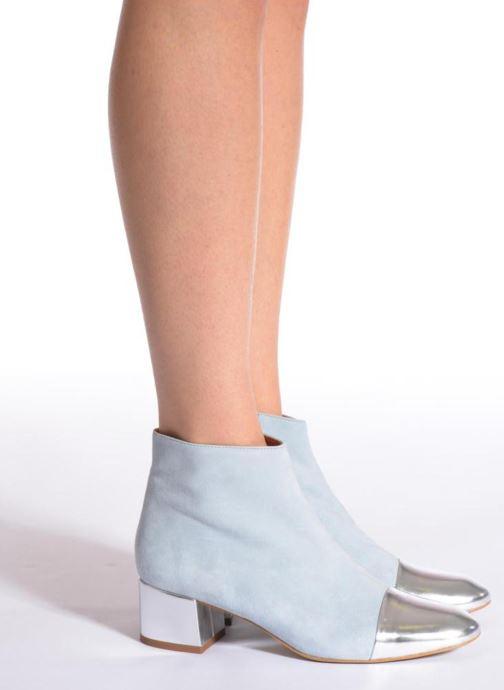 Stiefeletten & Boots Made by SARENZA Donut hut #7 blau ansicht von unten / tasche getragen