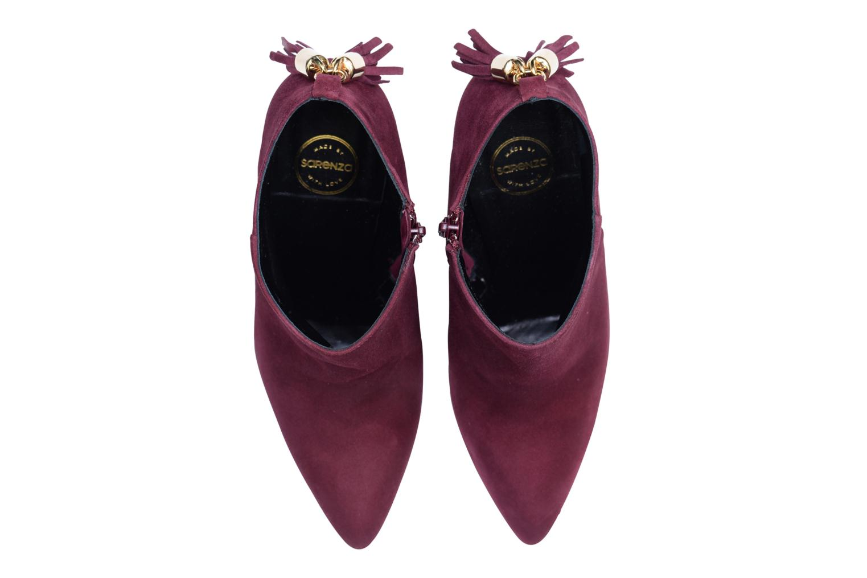 Bottines et boots Made by SARENZA Smoking Simone #5 Bordeaux vue portées chaussures