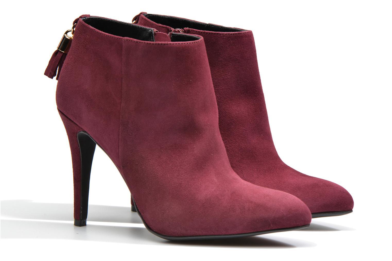 Bottines et boots Made by SARENZA Smoking Simone #5 Bordeaux vue derrière