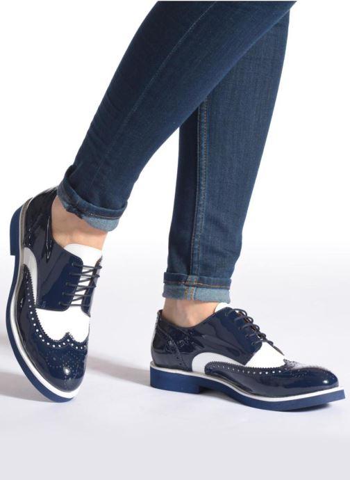Schnürschuhe Made by SARENZA Busy Girl Chaussures à Lacets #3 blau ansicht von unten / tasche getragen