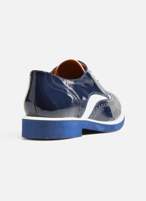 Zapatos con cordones Made by SARENZA Busy Girl Chaussures à Lacets #3 Azul vista de frente