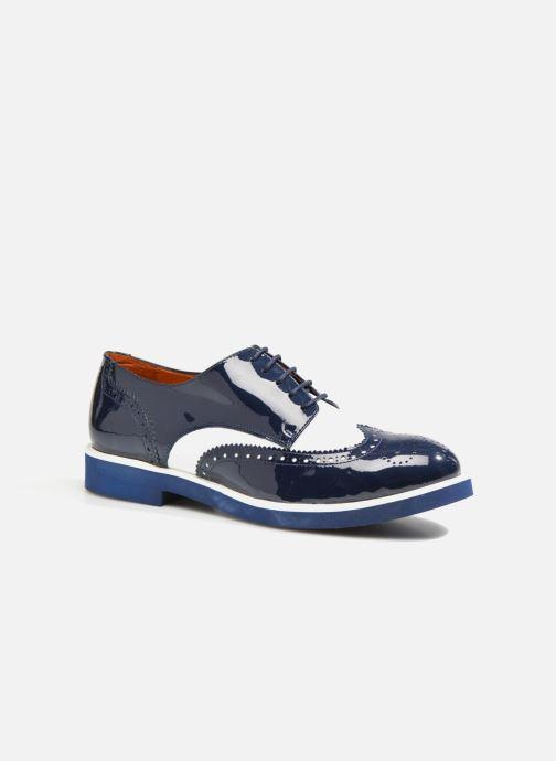 Zapatos con cordones Made by SARENZA Busy Girl Chaussures à Lacets #3 Azul vista lateral derecha