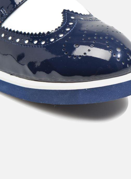 Zapatos con cordones Made by SARENZA Busy Girl Chaussures à Lacets #3 Azul vista lateral izquierda