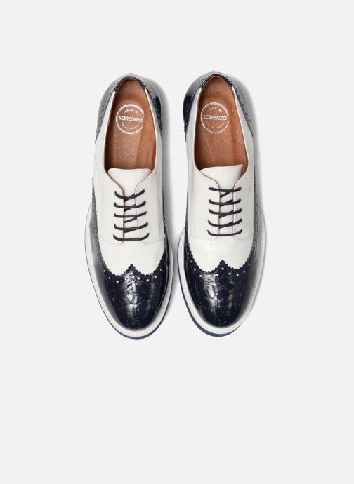 Schnürschuhe Made by SARENZA Busy Girl Chaussures à Lacets #3 weiß schuhe getragen