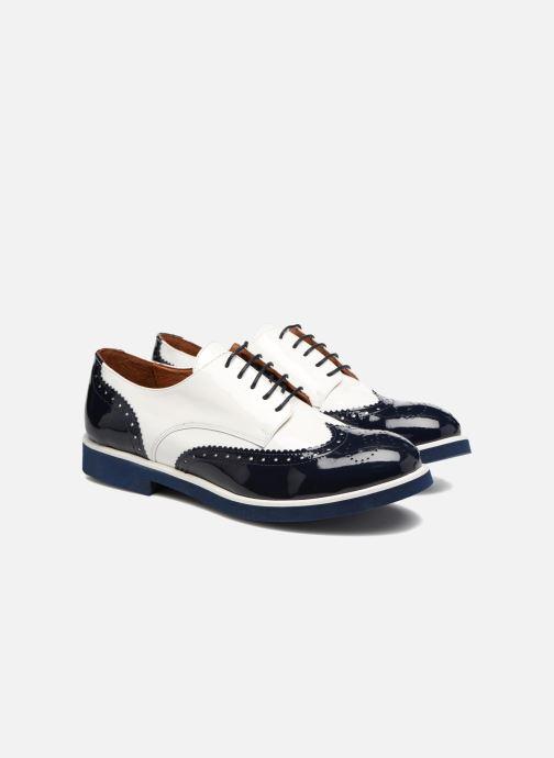 Schnürschuhe Made by SARENZA Busy Girl Chaussures à Lacets #3 weiß ansicht von hinten