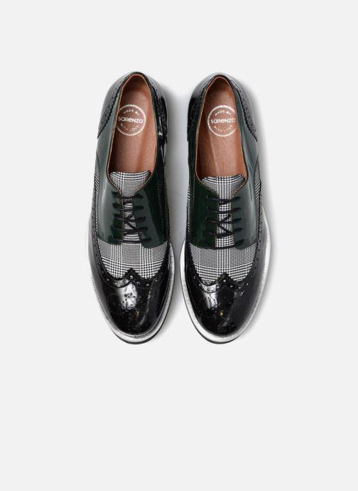Zapatos con cordones Made by SARENZA Busy Girl Chaussures à Lacets #3 Negro vista del modelo