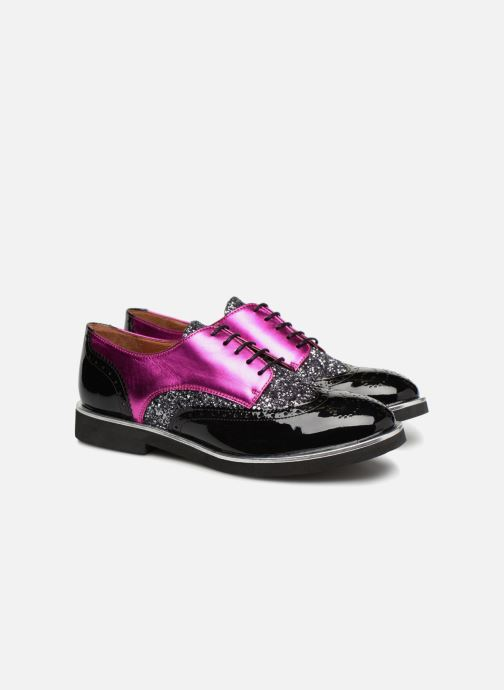 Veterschoenen Made by SARENZA Busy Girl Chaussures à Lacets #3 Zwart achterkant