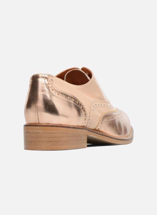 Veterschoenen Made by SARENZA 90's Girls Gang Chaussures à Lacets #5 Roze voorkant
