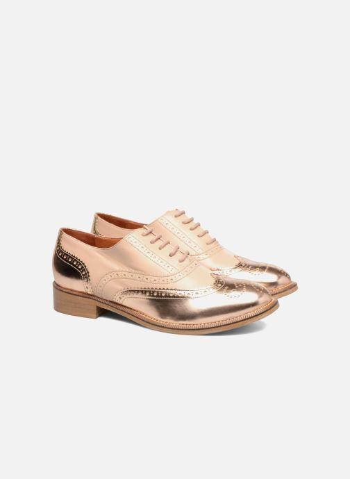 Veterschoenen Made by SARENZA 90's Girls Gang Chaussures à Lacets #5 Roze achterkant