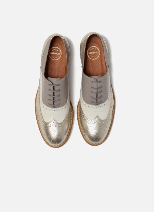 Veterschoenen Made by SARENZA 90's Girls Gang Chaussures à Lacets #5 Zilver model