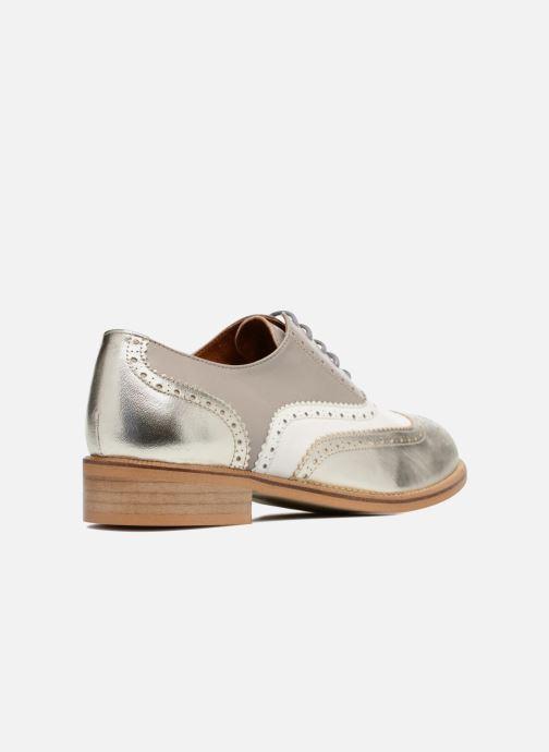 Veterschoenen Made by SARENZA 90's Girls Gang Chaussures à Lacets #5 Zilver voorkant