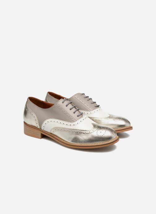 Veterschoenen Made by SARENZA 90's Girls Gang Chaussures à Lacets #5 Zilver achterkant
