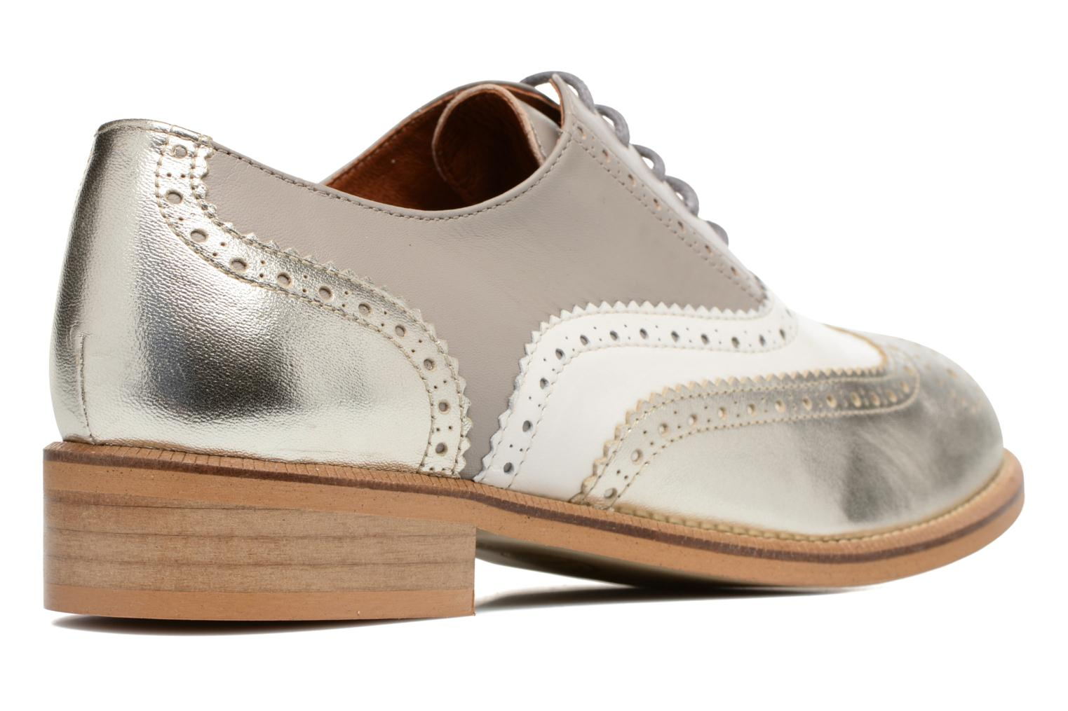 Sarenza Girls Made Gris Gang Galami Chaussures Blanc 90's ArgentMescai By Lacets5 À NwPvm8yn0O