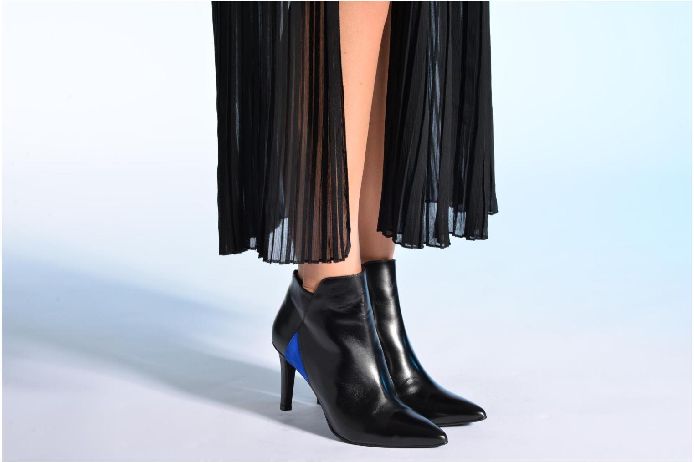 Bottines et boots Made by SARENZA Pop Party #8 Noir vue bas / vue portée sac