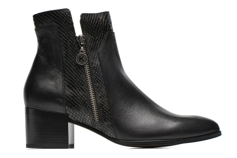 Bottines et boots Karston Hefiji Noir vue derrière