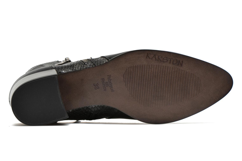 Bottines et boots Karston Hefiji Noir vue haut