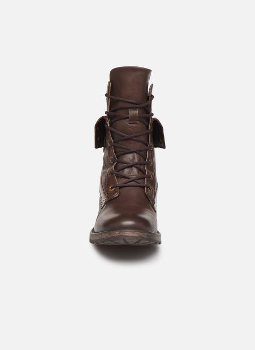 Bottines et boots Pataugas Deday Marron vue portées chaussures