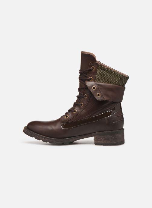 Bottines et boots Pataugas Deday Marron vue face