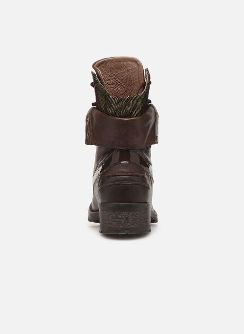 Bottines et boots Pataugas Deday Marron vue droite