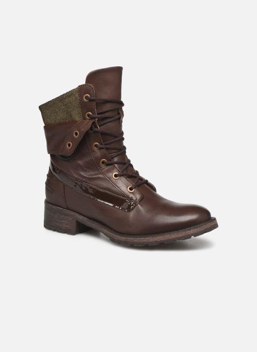 Bottines et boots Pataugas Deday Marron vue détail/paire
