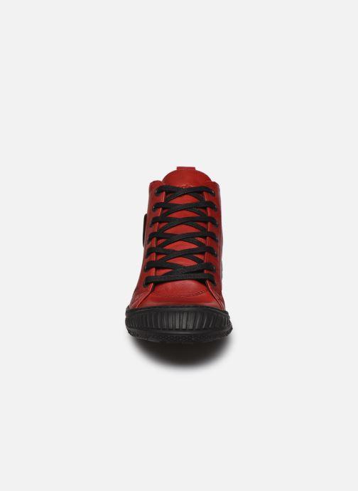 Baskets Pataugas RockerN Rouge vue portées chaussures