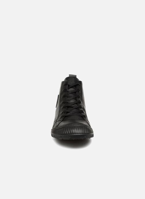 Baskets Pataugas RockerN Noir vue portées chaussures