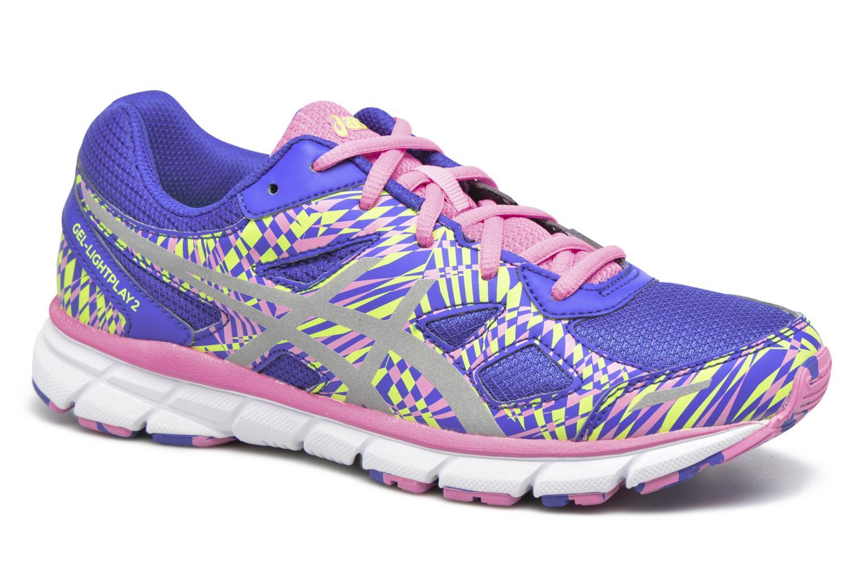 Chaussures de sport Asics GEL-LIGHTPLAY 2 GS Violet vue détail/paire