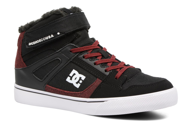 Deportivas DC Shoes SPARTAN HIGH EV B Negro vista de detalle / par