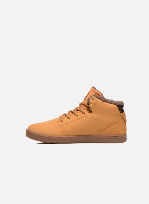 Sneakers DC Shoes CRISIS HIGH WNT Beige voorkant